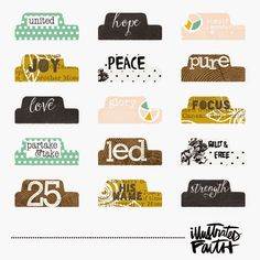 Illustrated Faith | Illustrated Advent Tabs