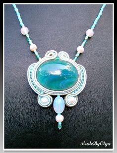 TUTORIAL - how to make a soutache pendant via Etsy