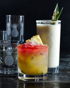 Coconut Colada | Vacation in a glass. For this drink—really, halfway between a dessert and a cocktail—be sure to buy unsweetened coconut cream. Serve in a tall glass with a thick straw.