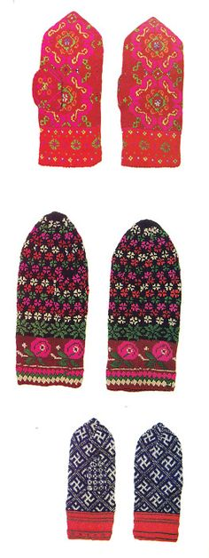 Latvian gloves, I like them as much as socks. They keep my hands warm