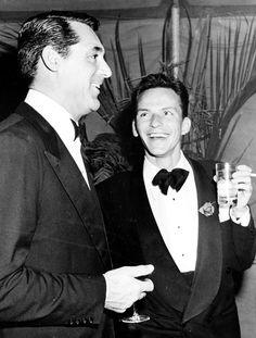 Frank Sinatra and Cary Grant