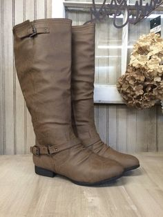 Taupe Fall/Winter Boots - Charlotte's Furniture and Fashion   Charlottes Furniture and Fashion