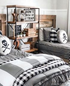 Beddy's are perfect for shared bedrooms! How perfect is this room by @greybirchdesigns featuring our modern gray Beddy's. #beddys #zipyourbed #zipperbeading #adultbedding #fashionablebedding #bedding #beddings #stylish #homedecor #homeinspo #homedecoration #bedroomdesign #bedroomgoals Shared Bedrooms, Guest Bedrooms, Zipper Bedding, Modern Boys Rooms, Kids Rooms, Make Your Bed, Dream Rooms, Interior Decorating, Interior Design