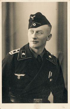 WWII German Panzer Fahrer Oberfeldwebel