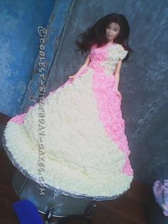 Coolest Barbie Doll Birthday Cake... This website is the Pinterest of birthday cake ideas