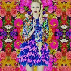 MaryMe-JimmyPaul 'Riviera' collection (photo by Semuel Souhuwat) Photography Women, Fashion Photography, Transgender Model, Jimmy, Print Wallpaper, Girls Show, Love Flowers, Night Flowers, Colorful Fashion
