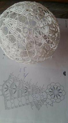 Crochet Christmas Ornaments, Christmas Crochet Patterns, Thread Crochet, Knit Crochet, Christen, Doilies, Knitting, Projects, Crafts
