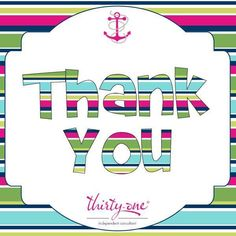 Thank you! www.mythirtyone.com/followinglifesbreezes