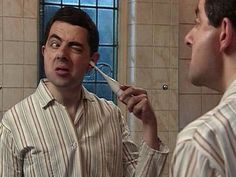 Getting ready for bed by Mr Bean. Teaching REFLEXIVE VERBS using movie talk.  Have students list all the verbs they see during the piece.