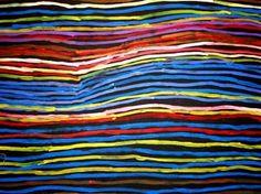 Risultati immagini per minnie pwerle artworks Indigenous Australian Art, Indigenous Art, Australian Artists, Aboriginal Artwork, Aboriginal Artists, Kunst Der Aborigines, Ecole Art, Blue Horse, National Art