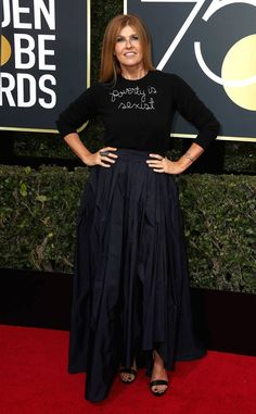 Connie Britton, 2018 Golden Globes, Red Carpet Fashions