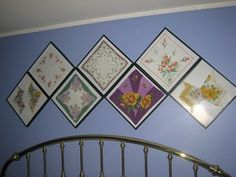 I blog, therefore I am.: Vintage Hankies ... a project finally finished!