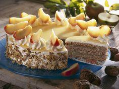Apfel-Walnuss-Torte | Zeit: 45 Min. | http://eatsmarter.de/rezepte/apfel-walnuss-torte