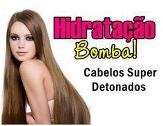 Hidratação Bomba para os cabelos com bepantol e queratina, resultado de salão em casa. Cabelos lindos e com muito brilho.