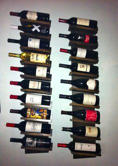 Wine storage by @GreenMarketGirl