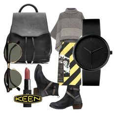 """""""So Fresh and So Keen: Contest Entry"""" by hannymish ❤ liked on Polyvore featuring Miu Miu, Piazza Sempione, Keen Footwear, rag & bone, Ray-Ban and keen"""