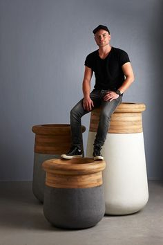 Rh's Planter Collections:at Restoration Hardware, You'll Explore ... Soma Blumenkubel Wiid Design Bilder