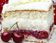 Summer Desserts, Cake Cookies, Vanilla Cake, Wedding Cakes, Flora, Cheesecake, Sweets, Cream, Recipes