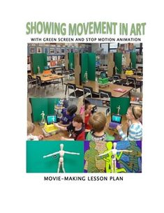 This lesson plan has is for creating stop motion animation with green screen with your students to help them demonstrated movement over their artwork of the same theme. This extends their learning from physical to digital. The lesson has links to all the resources you will need to build your green screen stop motion stations, what apps to purchase for your iPads, a video to introduce the lesson to your students, as well as a step by step procedure with screen shots and images to help you…
