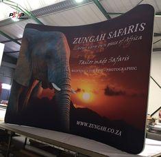 #safari Wall Banner, Exhibition Display, Banner Printing, Touring, Banners, Safari, Pop, Prints, Expo Stand