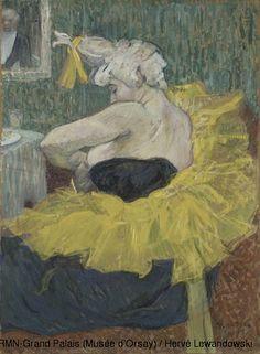 Henri de Toulouse-Lautrec (1864-1901)  The Clown Cha-U-Kao  1895  Oil on card  H. 64; W. 49 cm  Paris, Musée d'Orsay