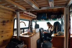 My interviews tend to focus on the people who live in tiny homes and less on how people design their tiny homes. But I've had several people tell me that they'd like to learn more about the process of converting a vehicle into a tiny home. Photography is important when chronicling a process like th