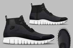 Nike Sportswear Free Chukka Boot Concept by David Whetstone, via Behance