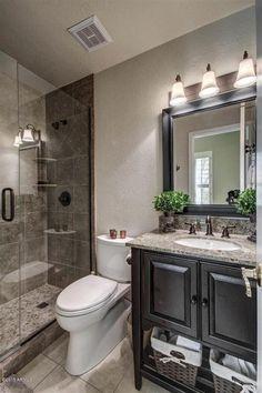 Cool 40 Beautiful Master Bathroom Remodel Ideas. More at http://dailypatio.com/2018/02/28/40-beautiful-master-bathroom-remodel-ideas/