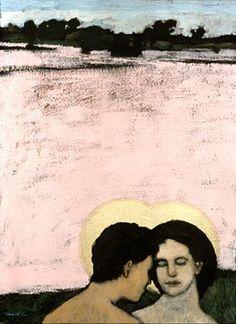Brian Kershisnik: Adam and Eve
