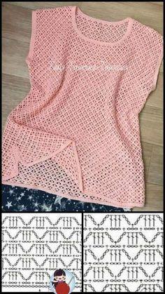 Crochet Headband Pattern, Crochet Collar, Crochet Blouse, Knit Crochet, Crochet Summer Dresses, Crochet Summer Tops, Fillet Crochet, Crochet Bookmarks, Crochet Fashion