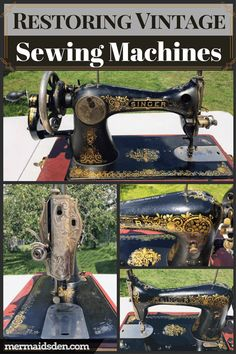 In this post, I'll list all of the resources I've found helpful on restoring vintage sewing machines, including blogs, forums, youtube channels, and shops.