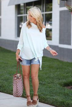 Two Peas in a Blog: Loose thermal tee