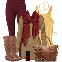 """""""Autumn Layers"""" by casuality on Polyvore"""
