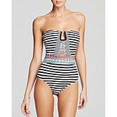 Nanette Lepore Merengue Seductress One Piece Swimsuit