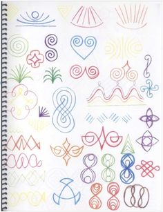 form drawing is great practice for handwriting and can be used as a meditation as well. Chalkboard Drawings, Chalk Drawings, Form Drawing, Pattern Drawing, Weaving For Kids, Doodle Art Journals, Meditation, Math Art, Love Symbols