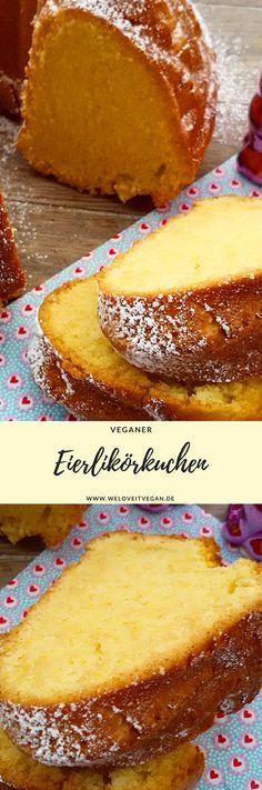 veganer Eierlikörkuchen