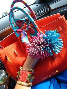 Hermes - Birkin bag, CDC bracelet and Twillies.