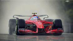 Formule 1 auto's krijgen een futuristisch uiterlijk - Racingnews365
