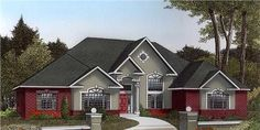House Pinterest European Style Monster House And Plan Plan