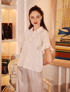 French Seam, Linen Blouse, Edgy Outfits, Shirt Sleeves, Cotton Dresses, Different Styles, Latest Fashion Trends, Street Fashion
