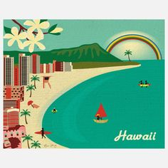 Fab.com | Hawaii Print