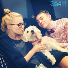 Photo: Dylan Riley Snyder And Olivia Holt Hanging Out With Ranger May 30, 2013