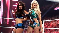 WWE Divas Layla and Kelly Kelly