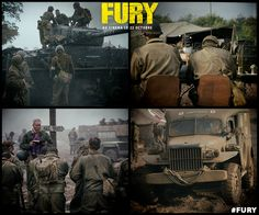 Leur combat est leur vie. Un film avec #BradPitt, #ShiaLabeouf, #LoganLerman, #Jon Bernthal et #MichaelPena