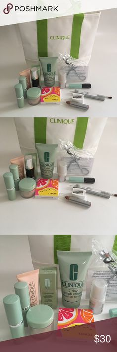 Clinique Makeup Bundle CLINIQUE 16-pcs. Makeup Bundle. Never used! Includes all in the picture. ⚜❌SWAP❌TRADE ⚜✔️❤️Bundles📦 ⚜✔️Clean/Smoke-free/pet-free home Clinique Makeup