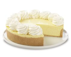 Key Lime Cheesecake from The Cheesecake Factory!  There is nothing like it!
