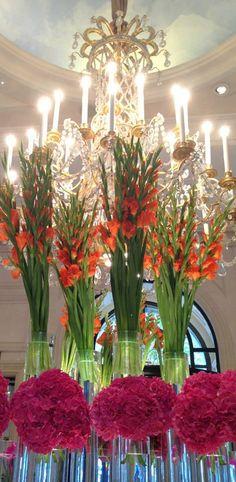 Fresh floral displays