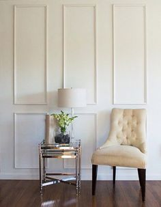 Brooklyn Six Piece Applied Wall Moulding Kit~ Get the custom, high-end look in your home with Luxe Architectural Panel Moulding, Wall Molding, Molding Ceiling, Moldings, Wall Trim, Temporary Wall, Brooklyn, Wall Treatments, Interiores Design