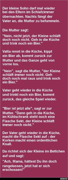 Der kleine Sohn darf mal wieder bei.. | DEBESTE.de, Lustige Bilder, Sprüche, Witze und Videos