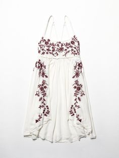 Free People Embroidered Babydoll Slip, $98.00